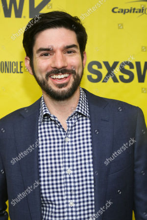 "Stock Photo of Musical composer Chris Westlake arrives at the world premiere of ""Small Town Crime"" at the Paramount Theatre during the South by Southwest Film Festival, in Austin, Texas"