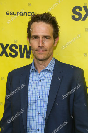 """Michael Vartan arrives at the world premiere of """"Small Town Crime"""" at the Paramount Theatre during the South by Southwest Film Festival, in Austin, Texas"""