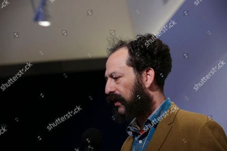 """Director Tabbert Fiiller attends a screening of """"The Public Image is Rotten"""" at the Spring Studios during the 2017 Tribeca Film Festival on in New York"""
