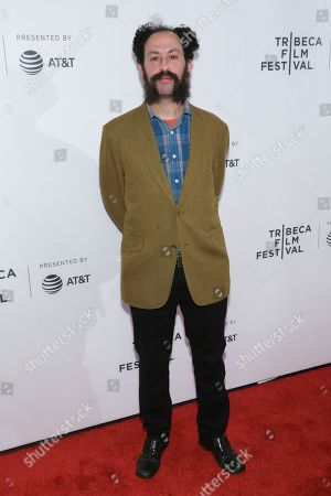"""Director Tabbert Fiiller attends a screening of """"The Public Image is Rotten"""" at the Spring Studios during the 2017 Tribeca Film Festival, in New York"""
