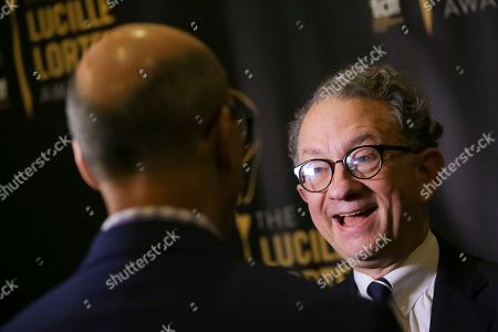 Stock Picture of Costume designer and event honoree William Ivey Long attends the 32nd Annual Lucille Lortel Awards at the NYU Skirball Center, in New York
