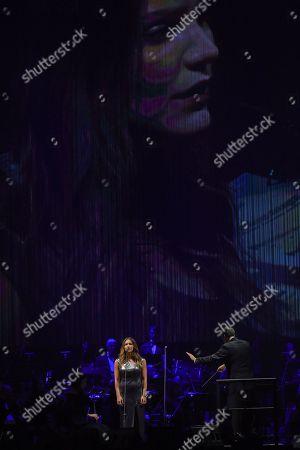 Singer Katharine McPhee Performs At Madison Square Garden, ...