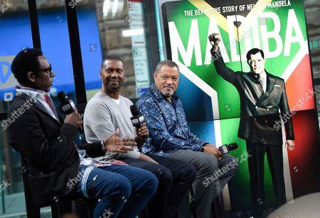 "Editorial photo of BUILD Speaker Series: ""Madiba"" Cast, New York, USA - 26 Jan 2017"