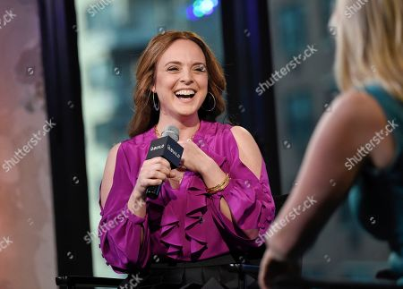 """Actress Melissa Errico participates in BUILD Speaker Series to discuss """"Finian's Rainbow"""" at AOL Studios, in New York"""
