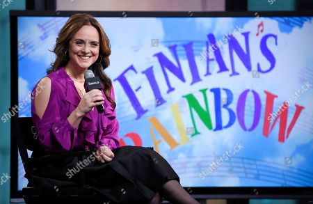 """Stock Picture of Actress Melissa Errico participates in BUILD Speaker Series to discuss """"Finian's Rainbow"""" at AOL Studios, in New York"""