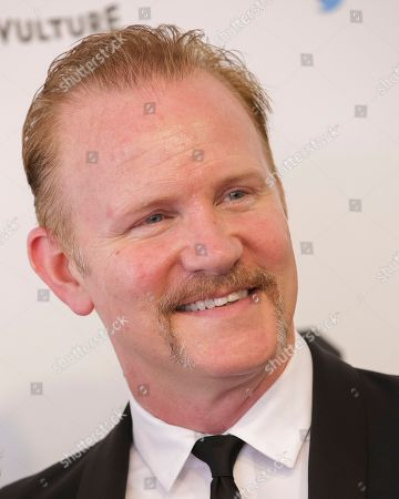 """Morgan Spurlock arrives for """"Full Frontal with Samantha Bee's Not the White House Correspondents' Dinner"""" held at DAR Constitution Hall on Saturday, April, 29, 2017, in Washington"""
