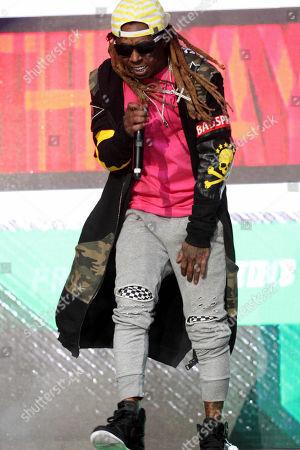 Nicki Minaj, Lil Wayne, Gucci Mane, Migos 2 Chainz, Lil Yachty, LeCrae and Fat Joe performs during the Hot 107.9 Bithday Bash at Philips Arena, in Atlanta