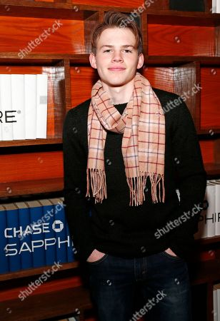 "Actor Josh Wiggins from ""Walking Out"" stands for a photo at the Indiewire photo studio at Chase Sapphire on Main, during the 2017 Sundance Film Festival, in Park City, Utah"