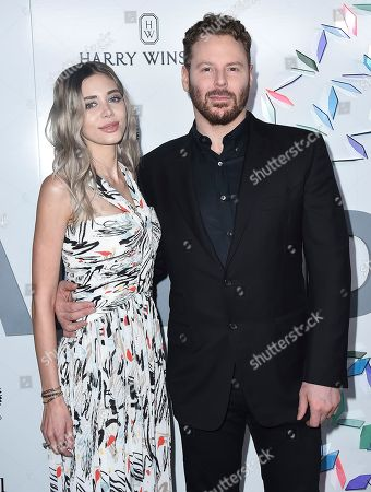 Alexandra Lenas and Sean Parker arrive at the Kaleidoscope 5: LIGHT event on in Culver City, Calif