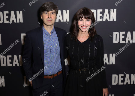 """Stock Photo of Demetri Martin, left, and Mary Steenburgen arrive at the LA Special Screening of """"Dean"""" at the ArcLight Hollywood, in Los Angeles"""