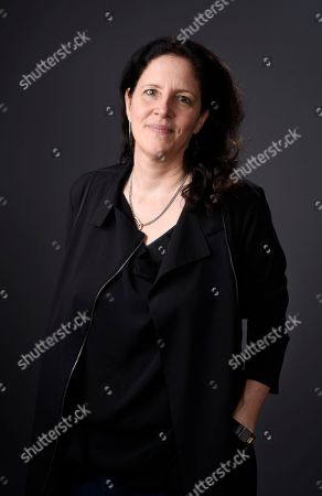 """Stock Image of Documentary filmmaker Laura Poitras, director of """"Risk,"""" poses for a portrait, in Los Angeles"""