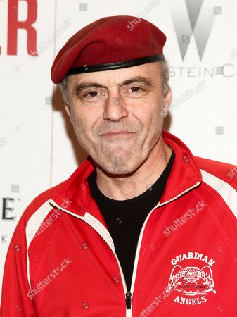 """Curtis Sliwa attends a special screening of """"The Founder"""", hosted by The Cinema Society, at The Roxy, in New York"""