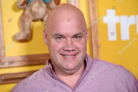 """Guy Branum arrives at a premiere for """"Upscale with Prentice Penny"""" at The London hotel, in West Hollywood, Calif"""