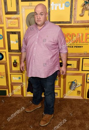 """Stock Picture of Guy Branum arrives at a premiere for """"Upscale with Prentice Penny"""" at The London hotel, in West Hollywood, Calif"""