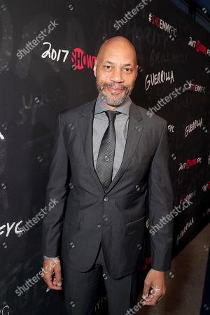 "Executive Producer John Ridley seen at Showtime's ""Guerilla"" ATAS FYC Event at WGA, in Los Angeles"