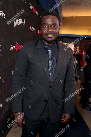 "Babou Ceesay seen at Showtime's ""Guerilla"" ATAS FYC Event at WGA, in Los Angeles"
