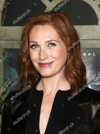 """Kate Jennings Grant attends the world premiere of Netflix's """"Lemony Snicket's A Series of Unfortunate Events"""" at AMC Loews Lincoln Square, in New York"""