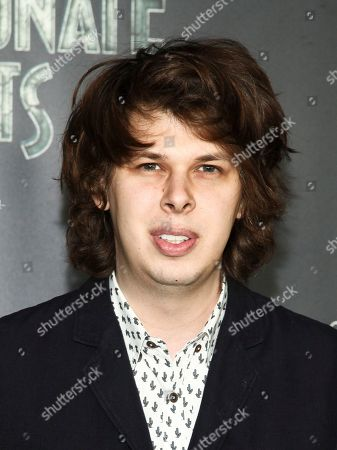 """Matty Cardarople attends the world premiere of Netflix's """"Lemony Snicket's A Series of Unfortunate Events"""" at AMC Loews Lincoln Square, in New York"""