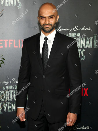 "Usman Ally attends the world premiere of Netflix's ""Lemony Snicket's A Series of Unfortunate Events"" at AMC Loews Lincoln Square, in New York"