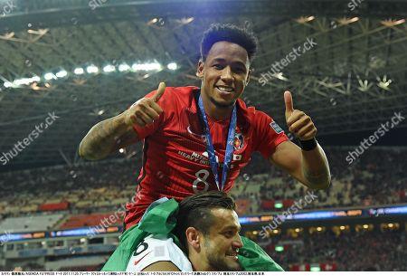 Rafael da Silva of Urawa Reds celebrates after winning the AFC Champions League Final 2nd leg match
