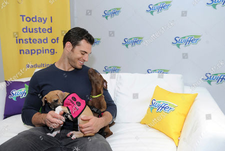 Puppy love was in the air as Dr. Evan Antin partners with Swiffer to celebrate the upcoming National Pet Month (May) with the help of puppies from Bideawee Animal Shelter, in New York