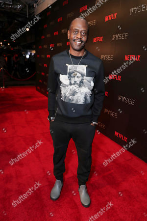K. Todd Freeman at 'A Series of Unfortunate Events' panel Q&A at Netflix FYSee exhibit space, in Los Angeles, CA