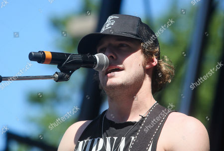Tucker Beathard performs during the Daytime Village at the iHeartCountry Festival at the Frank Erwin Center, in Austin, Texas