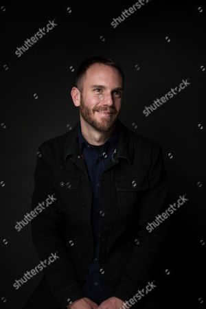 """Director Charlie McDowell poses for a portrait to promote the film, """"The Discovery"""", at the Music Lodge during the Sundance Film Festival, in Park City, Utah"""