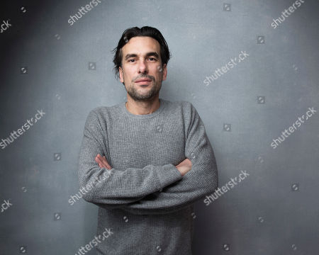 "Director Alexandre Moors poses for a portrait to promote the film, ""The Yellow Birds"", at the Music Lodge during the Sundance Film Festival, in Park City, Utah"