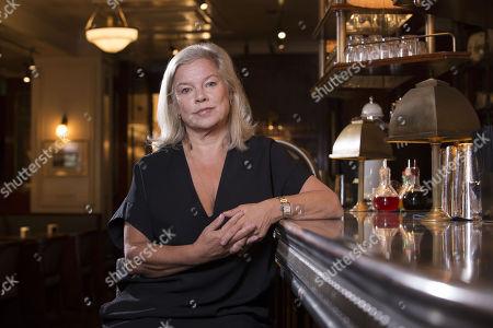 Stock Picture of Alison Owen, Bellanger restaurant
