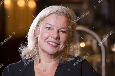 Stock Photo of Alison Owen, Bellanger restaurant