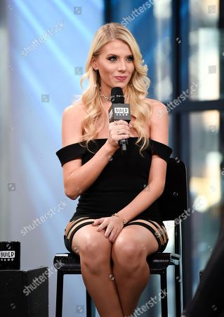 "Television personality Haley Ferguson participate in the BUILD Speaker Series to discuss the television series ""The Twins: Happily Ever After?"" at AOL Studios, in New York"