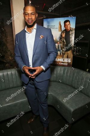 """Finesse Mitchell seen at the Crackle Original Movie """"Mad Families"""" Premiere Party at Catch LA, in West Hollywood, Calif"""