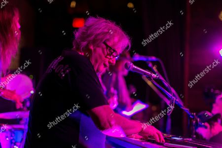 Geoff Downes performs at Jonathan Cain and Friends at Rose Bar on Saturday, April, 8, 2017 in New York