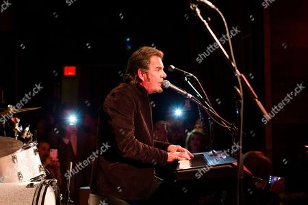 Editorial picture of Jonathan Cain and Friends, New York, USA - 8 Apr 2017