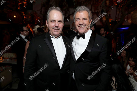 "Hacksaw Ridge"" Producer Bill Mechanic and ""Hacksaw Ridge"" Director Mel Gibson seen at Lionsgate's Oscar Celebration, presented by Bulleit Frontier Whiskey at Soho House West Hollywood, in West Hollywood, Calif"