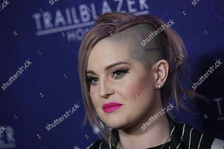 Kelly Osbourne attends LOGO's Trailblazer Honors, celebrating leaders at the forefront of LGBTQ equality, at The Cathedral of St. John the Divine, in New York