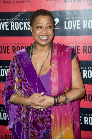 Lisa Fischer attends Love Rocks NYC! at the Beacon Theatre on in New York