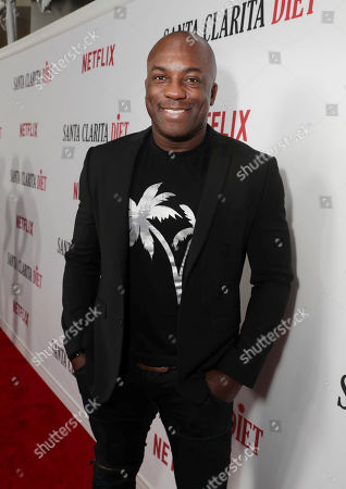 DeObia Oparei seen at at the Netflix 'Santa Clarita Diet' premiere at the ArcLight Cinerama Dome on Wednesday, February 1st, 2017, in Los Angeles, CA