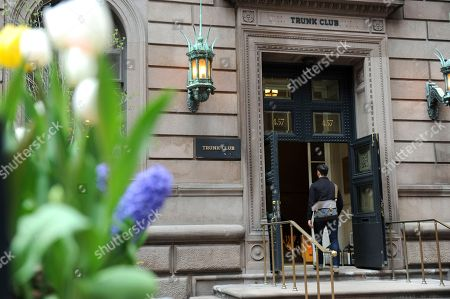Stock Picture of The outside of Trunk Club's New York Clubhouse on Madison Avenue is seen . Trunk Club is a personal styling service for men and women