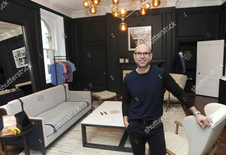 Editorial picture of Trunk Club Opens Newly Designed Room from Zachary Prell, New York, USA - 13 Apr 2017