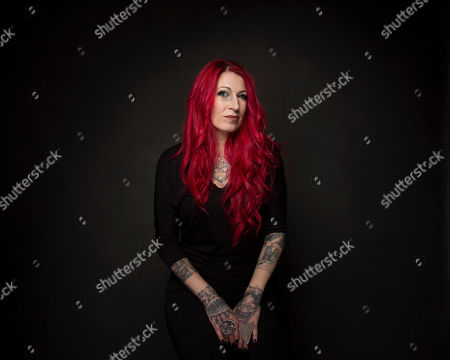 "Director Jovanka Vuckovic poses for a portrait to promote the film, ""XX"", at the Music Lodge during the Sundance Film Festival, in Park City, Utah"