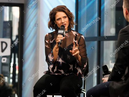 """Monique Gabriela Curnen participates in the BUILD Speaker Series to discuss the new series """"Taken"""" at AOL Studios, in New York"""