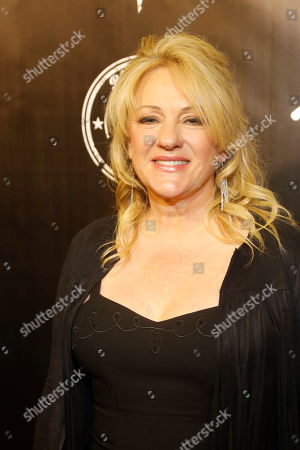 """Theresa Haggard arrives at the concert """"Sing me Back Home: The Music of Merle Haggard"""" at the Bridgestone Arena, in Nashville, Tenn"""