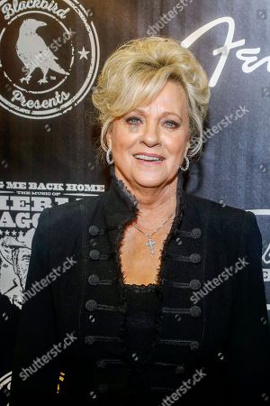 """Connie Smith arrives at the concert """"Sing me Back Home: The Music of Merle Haggard"""" at the Bridgestone Arena, in Nashville, Tenn"""