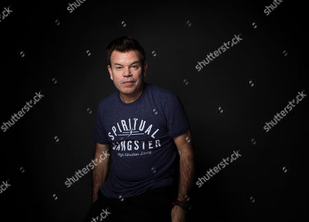Paul Oakenfold poses for a portrait at the Music Lodge during the Sundance Film Festival, in Park City, Utah