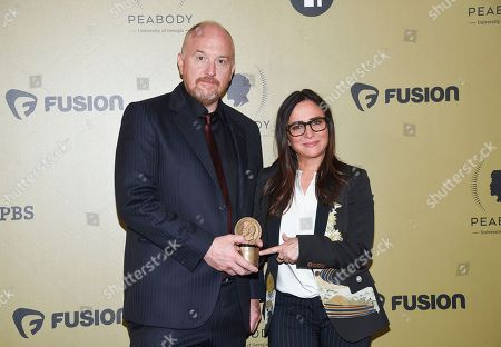 Editorial picture of APTOPIX 76th Annual Peabody Awards - Press Room, New York, USA - 20 May 2017