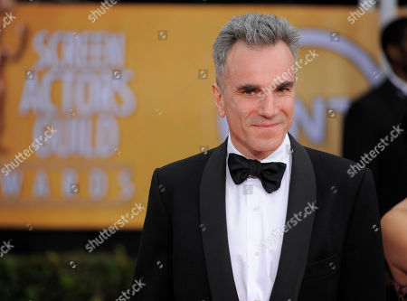 Daniel Day-Lewis arrives at the 19th Annual Screen Actors Guild Awards at the Shrine Auditorium in Los Angeles. Day-Lewisâ?™s representative, Leslee Dart, said in a statement, that the 60-year-old performer â?oewill no longer be working as an actor.â?? She added that Day-Lewis is â?oeimmensely grateful to all of his collaborators and audiences over the many years.â