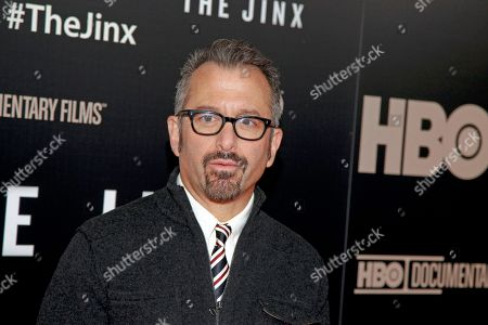 """Director Andrew Jarecki attends the HBO documentary series premiere of """"The Jinx: The Life and Deaths of Robert Durst"""" in New York City. Durst knew he was suspected in the Los Angeles killing of his best friend, but he never fled because so much time had passed he didn't think police would come after him, according to court documents released . Durst was asked why he didn't split after documentary filmmakers confronted him with a letter anonymously sent to police in 2000 tipping them to the location of Susan Berman's body that matched handwriting on a letter he had sent her years before"""