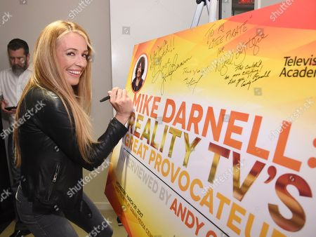 Cat Deeley attends the Television Academy's sold out member event, Mike Darnell: Reality TV's Great Provocateur, at the Saban Media Center on in North Hollywood, Calif